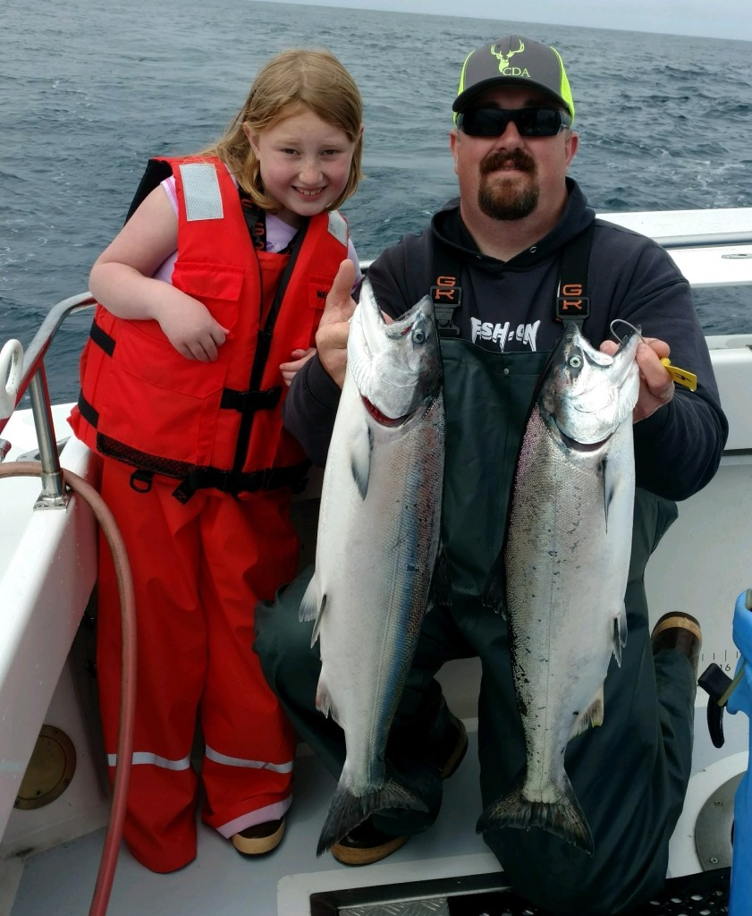 Solid salmon opener out of Eureka | Fishing the North Coast